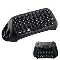 Wireless Bluetooth Keyboard For Sony PS4 PlayStation Dualshock 4 Controller ZH