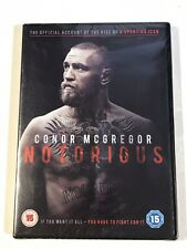 CONOR MCGREGOR NOTORIOUS DVD NEW SEALED