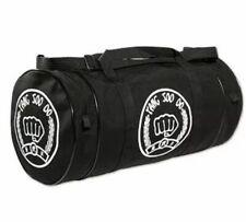 Deluxe Tsd Sports Equipment Gym Bag Tang Soo Do Large Mma Duffle Black Fist Euc