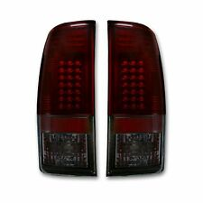 RECON 264176RBK Ford SuperDuty F-250/350/450/550 08-16 Red Smoked-Red Tail