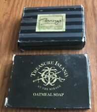 Mirage Treasure Island Hotel Casino Souvenir Oatmeal Soap Vintage Lot Of 2