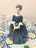 "Vintage Royal Doulton ""Cherie"" HN2341 Figurine Made in England in 1965"