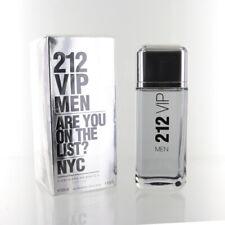 212 Vip Men 6.7 Oz Eau De Toilette Spray by Carolina Herrera NEW Box for Men