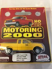 HO Scale Atlas Motoring 2000 Railroad CrewTrucks 1997 Ford YellowNorfolkSouthern