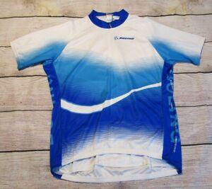 Voler Team Apparel Boeing Cycling 3/4 Zip Blue White Short Sleeve Mens Jersey 2X
