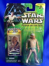 -- .01 -- MOC Star Wars Power of the Jedi Force File Mon Calamari Officer