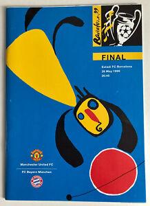 MANCHESTER UNITED Vs BAYERN MUNICH Programme - 1999 CHAMPIONS LEAGUE FINAL
