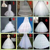 9 Style A Line/Hoop/Hoopless Super big wedding Crinoline Petticoat Underskirt