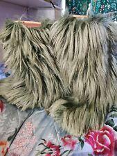 Vintage Dolomite Snow Yeti Mongolian Fur Hair Apres Boots Eu39 Uk6 Us8 Or bigger