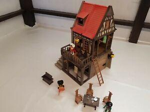 Playmobil 3447, Rathaus, Mittelalter Fachwerkhaus, passend zur Ritterburg