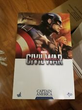 Hot Toys Captain America Civil War MMS350, Used, Avengers 1/6 1:6 Scale Figure