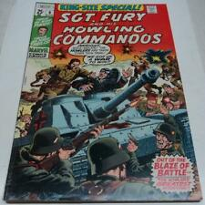 SGT FURY & HIS HOWLING COMMANDOS ANNUAL #6 (Marvel 1970) STAN LEE cameo (FN)