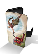 Deadpool 2 Cable And Wade Funny Vintage Painting Wallet Leather Phone Case