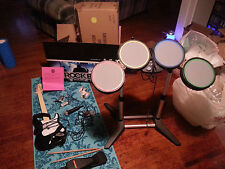 Rock Band Special Edition Microsoft Xbox 360 Complete CIB Fender Guitar Drums
