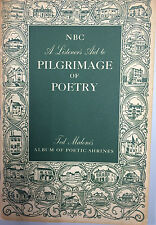 NBC A Listener's Aid to Pilgrimage of Poetry:Ted Malone's Album of Poetic Shrine