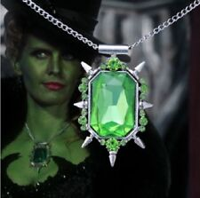 Necklace Zelena once upon a time there was once Wicked Witch of the West OZ