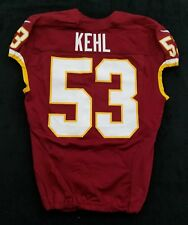 #53 Bryan Kehl of Washington Redskins Nike Game Issued Jersey