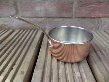 Unbranded Copper Saucepans