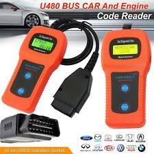 U480 CAN OBDII OBD2 Memo Engine Fault Code Reader Car Diagnostic Scanner Tool US