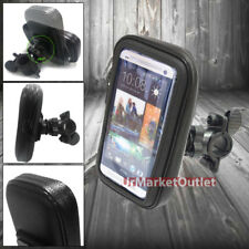 Waterproof Bicycle Bike Mount Holder Case for HTC One M7/M8 Desire V Phone 8X SV