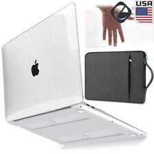 For 2020 MacBook Air Pro 13 A2289 A2179 Crystal Clear Hard Case Shell Sleeve Bag