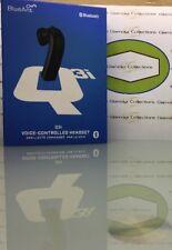 BlueAnt Q3i Premium Black Voice Control Bluetooth Headset (H6)