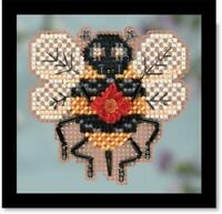 10/% Off Mill Hill Spring Bouquet Series X-stitch//Beading Kit-Yellow Swallowtail