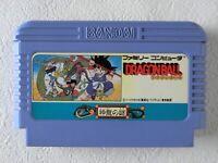 Dragon Ball Shenron no Nazo NES BANDAI Nintendo Famicom From Japan
