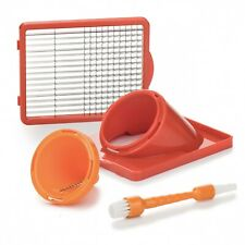 Genius Nicer Dicer chefglasschüssel Incl Couvercle /& Silicone Tapis