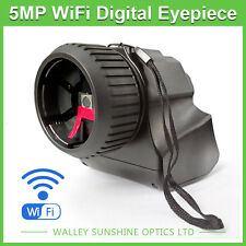 5MP WIFI CMOS Microscope Telescope Digital Eyepiece USB Electronic Video Camera