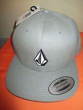 NEW VOLCOM Full Stone HAT BALL CAP Snapback MENS OSFA S M L XL Tan
