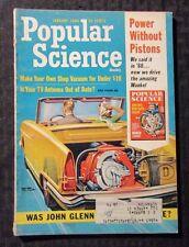 1965 Jan POPULAR SCIENCE Magazine FN 6.0 Astronaut John Glenn