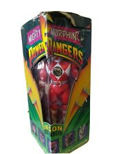 Mighty Morphin Power Rangers Jason Red Ranger Figurine NIB
