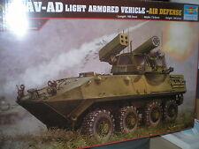 Trumpeter 1/35 USMC LAV-AD Light Armored Vehicle Air  #393 #00393  *New*Sealed*