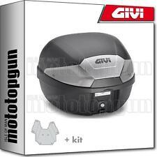 GIVI TOP CASE B29NT + PORTE-PAQUET PIAGGIO VESPA GTS 125 2008 08 2009 09 2010 10