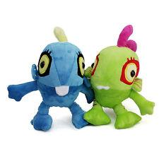 Blizzard World of Warcraft blue + GREEN Murloc Plush Stuffed Animal Soft WOW toy