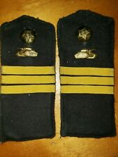 Ww2 M43 1943 Russian Soviet Tank Corps Serg. Shoulder Boards Straps Epaulettes
