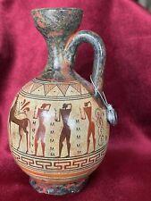 Greek Geometric Pottery Art Hydria 800 Bc Painted Vase Lekythos Hellas Centaur