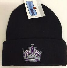 Los Angeles Kings NHL Youth Winter Cuffed Knit Beanie Hat NWT Fits 4-7 Years
