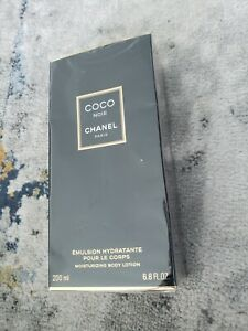 CHANEL COCO EMULSION POUR LE CORPS NOIR MOISTURIZING BODY LOTION 6.8 FL OZ