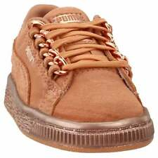 Puma suede classic x chain infant Sneakers Casual    - Tan - Girls