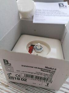 Berker Drehdimmer Modul 2 - Abdeckung & Drehknopf - Weiß - in OVP