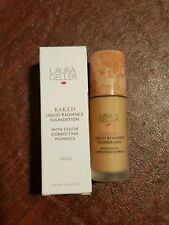 New Laura Liquid Radiance Foundation with Color Correcting Pigment in sand shade