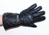 Men's Motorcycle Cruiser Bikers ATV Genuine Leather Thinsulate Gloves Gauntlets
