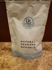 "Brand New Sealed Dead Sea Minerals ""Natural Dead Sea Bath Salts"""