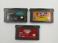 Game Boy Advance GBA Lot Tony Hawk Underground, Downhill Jam & American Sk8land
