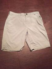 HURLEY Men's Medium Gray Shorts Hybrid Performance Swim Two Pockets. TL7