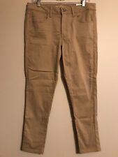 NWT AMERICAN EAGLE Misses Jeggings Pants Sz 14 SHORT Beige #458124