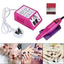 Professiona Electric  Acrylic Nail  Art File Drill Set Manicure Machine Sand Kit