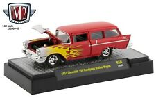 1:64 M2 Machines *AUTO-THENTICS R59* AUTO-SHOWS 1957 Chevrolet 150 Wagon NIB